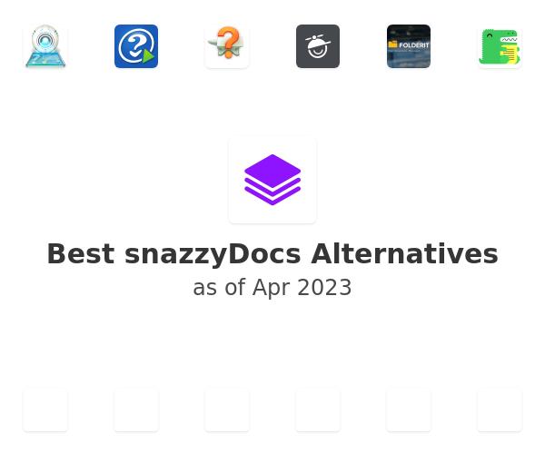 Best snazzyDocs Alternatives