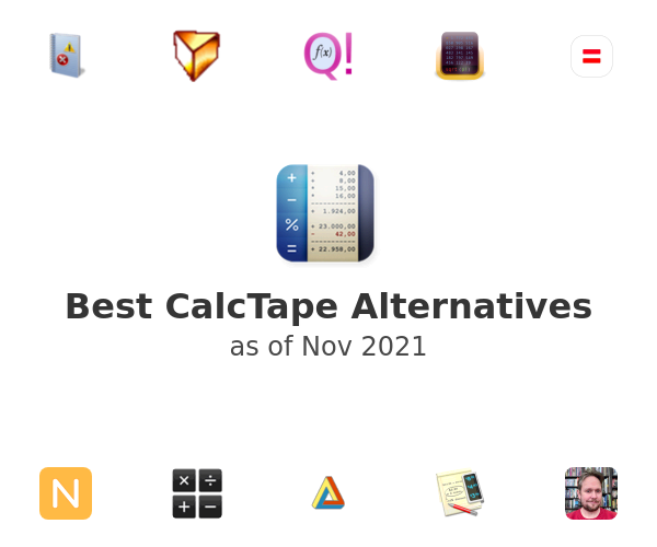 Best CalcTape Alternatives