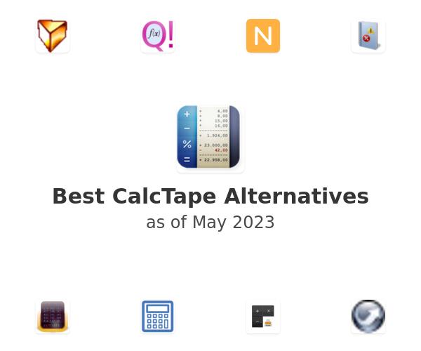 Best CalcTape Alternatives