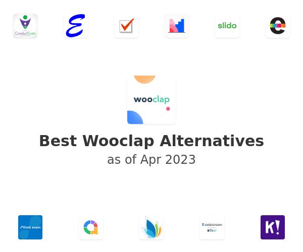 Best Wooclap Alternatives