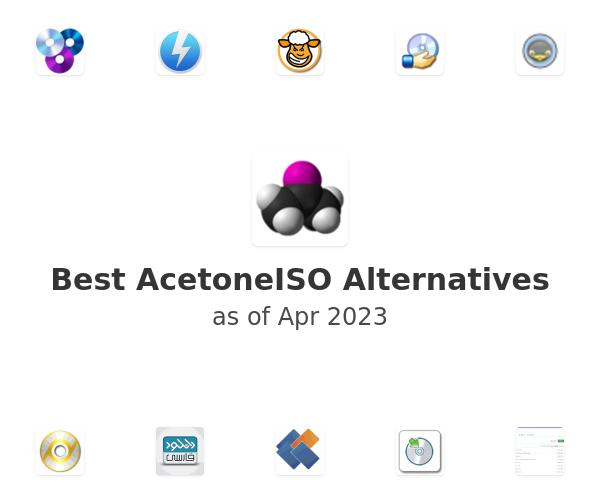 Best AcetoneISO Alternatives