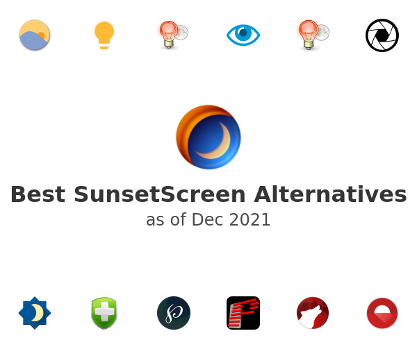 Best SunsetScreen Alternatives