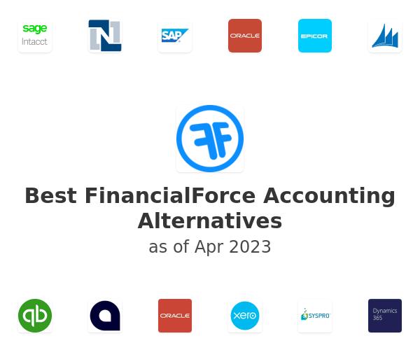 Best FinancialForce Accounting Alternatives