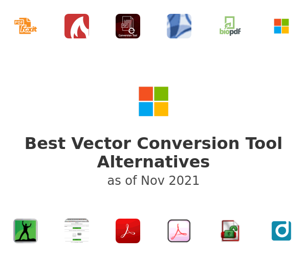 Best Vector Conversion Tool Alternatives