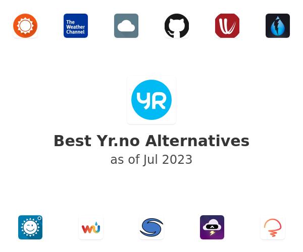 Best Yr.no Alternatives