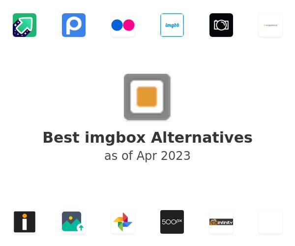 Best imgbox Alternatives