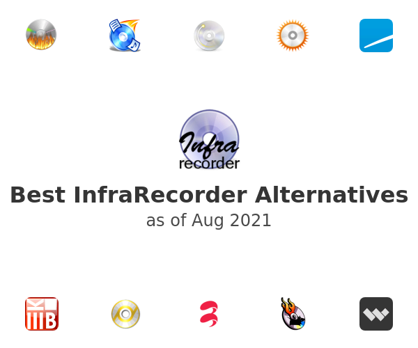 Best InfraRecorder Alternatives