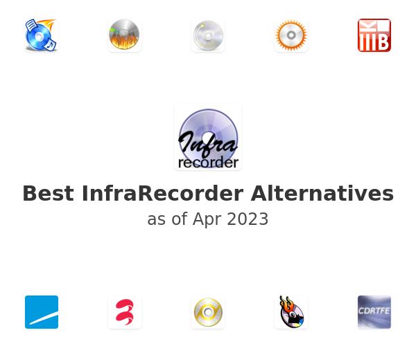 Best InfraRecorder Alternatives
