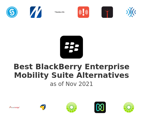 Best BlackBerry Enterprise Mobility Suite Alternatives