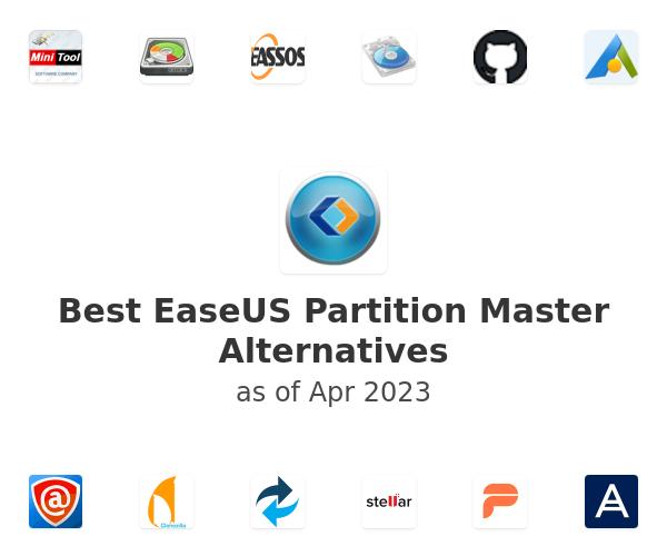 Best EaseUS Partition Master Alternatives