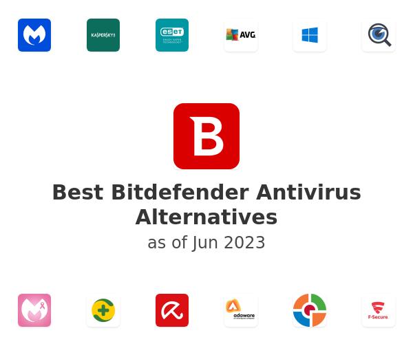 Best Bitdefender Antivirus Alternatives