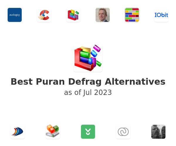 Best Puran Defrag Alternatives