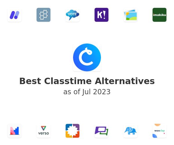 Best Classtime Alternatives