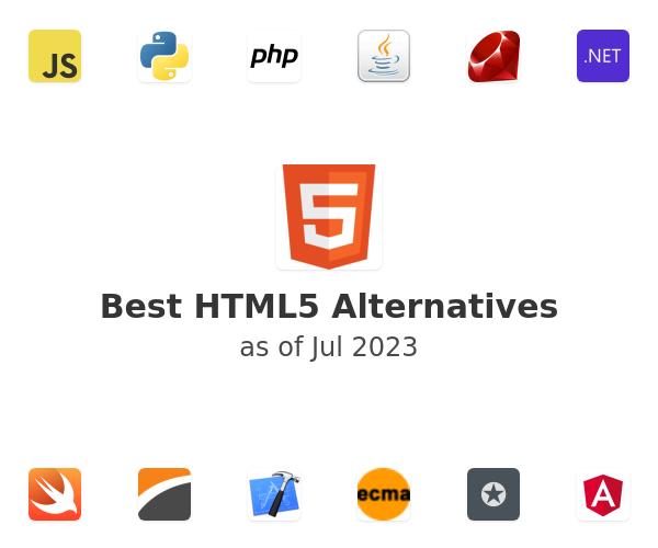 Best HTML5 Alternatives