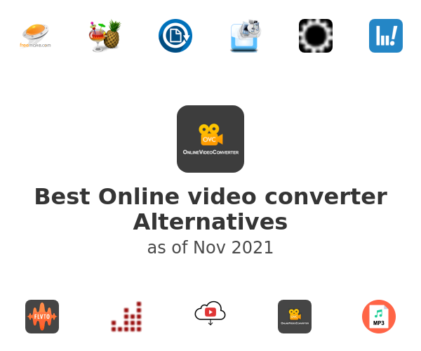 Best Online video converter Alternatives