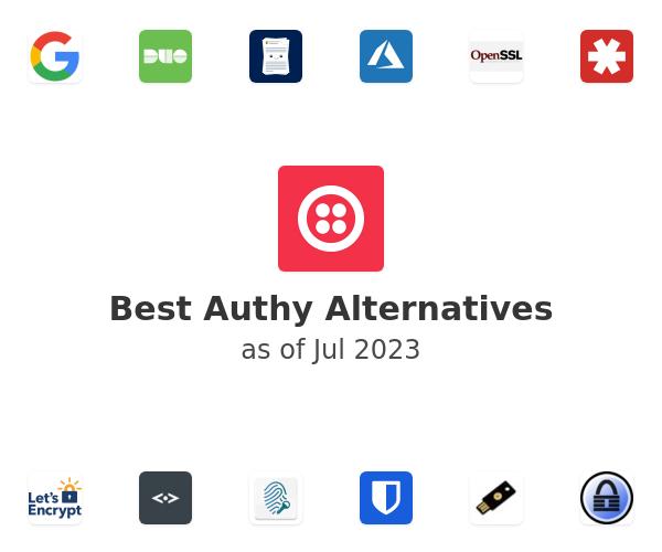 Best Authy Alternatives