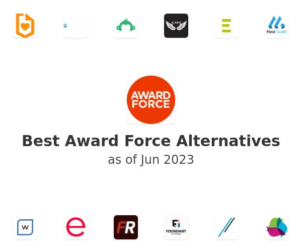 Best Award Force Alternatives