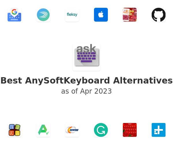 Best AnySoftKeyboard Alternatives