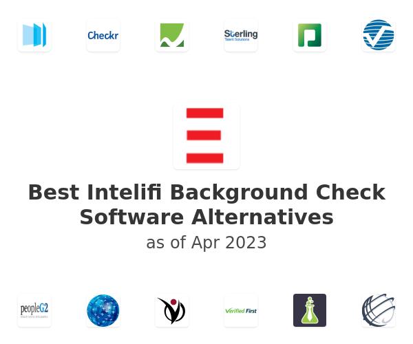 Best Intelifi Background Check Software Alternatives