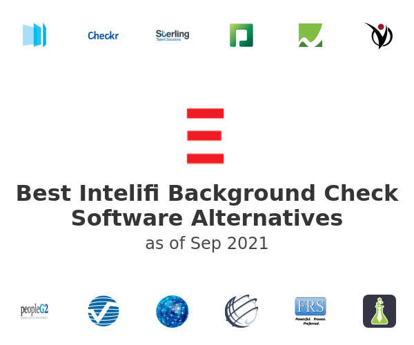 Best Intelifi Background Check Software Alternatives