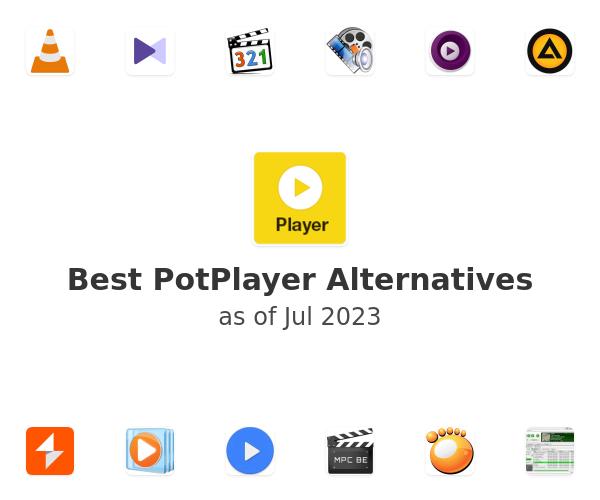 Best PotPlayer Alternatives