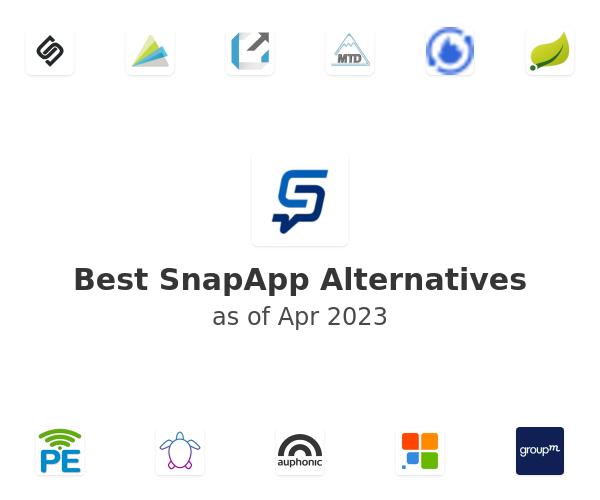 Best SnapApp Alternatives