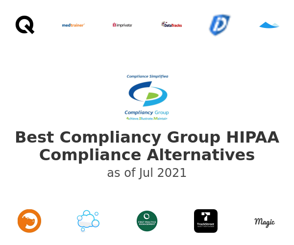 Best Compliancy Group HIPAA Compliance Alternatives