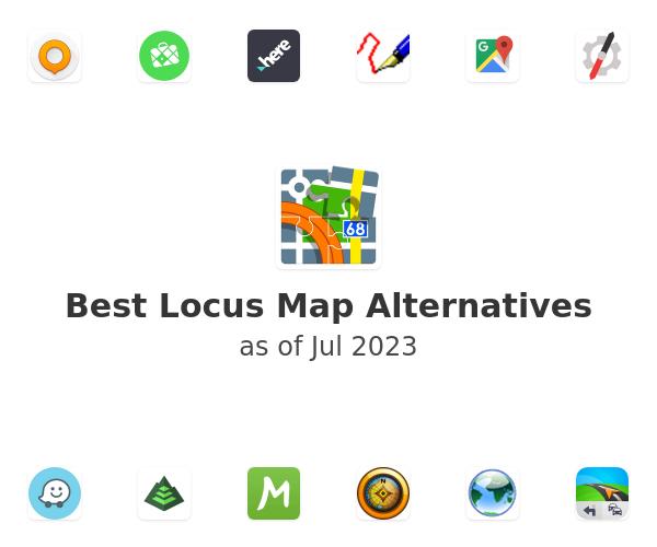 Best Locus Map Alternatives