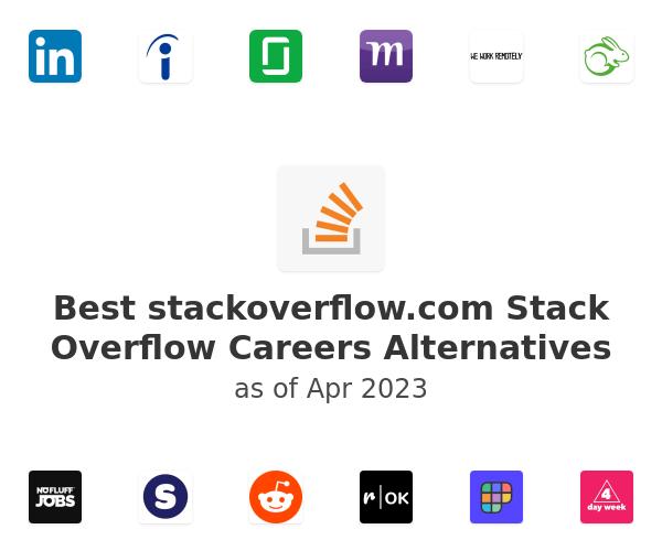 Best Stack Overflow Careers Alternatives