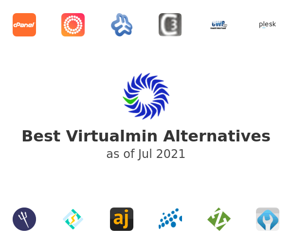 Best Virtualmin Alternatives