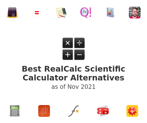 Best RealCalc Scientific Calculator Alternatives