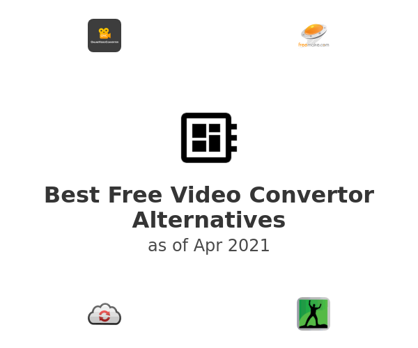 Best Free Video Convertor Alternatives