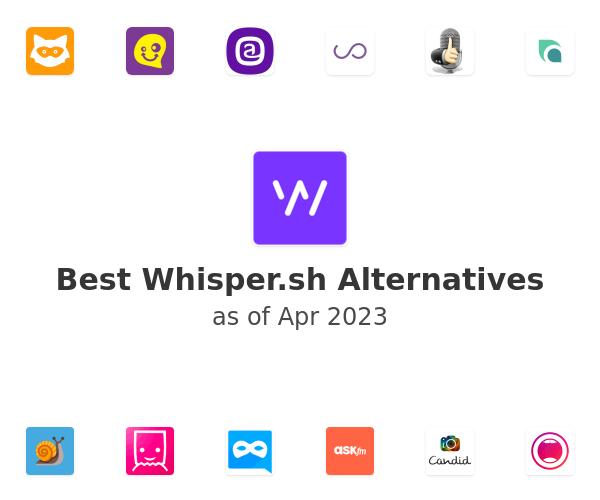 Best Whisper.sh Alternatives