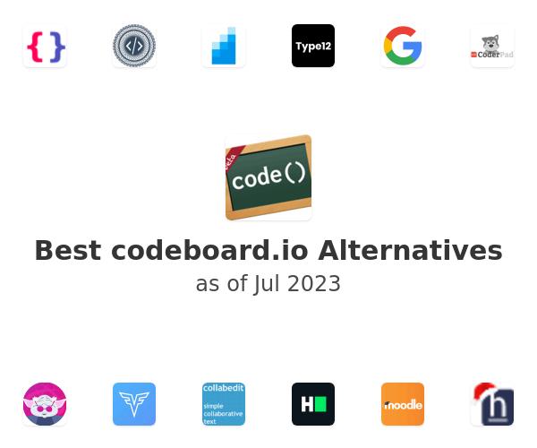 Best codeboard.io Alternatives