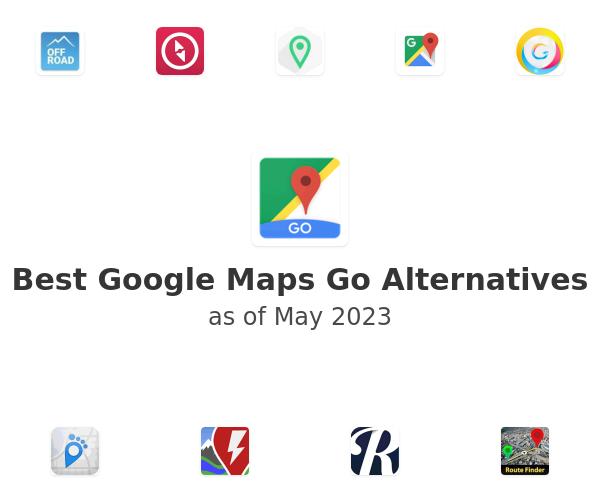 Best Google Maps Go Alternatives