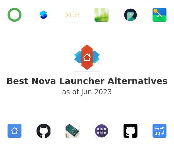 Best Nova Launcher Alternatives