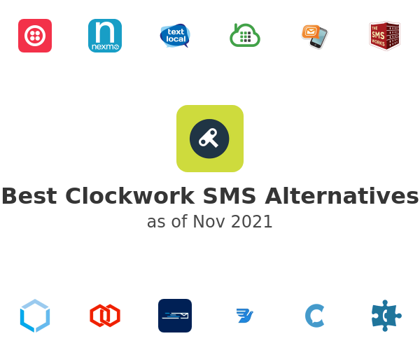 Best Clockwork SMS Alternatives
