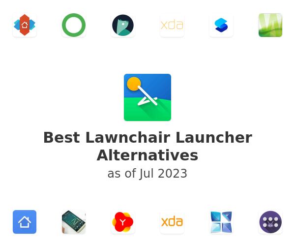 Best Lawnchair Launcher Alternatives