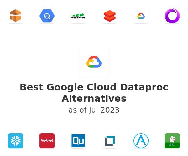 Best Google Cloud Dataproc Alternatives