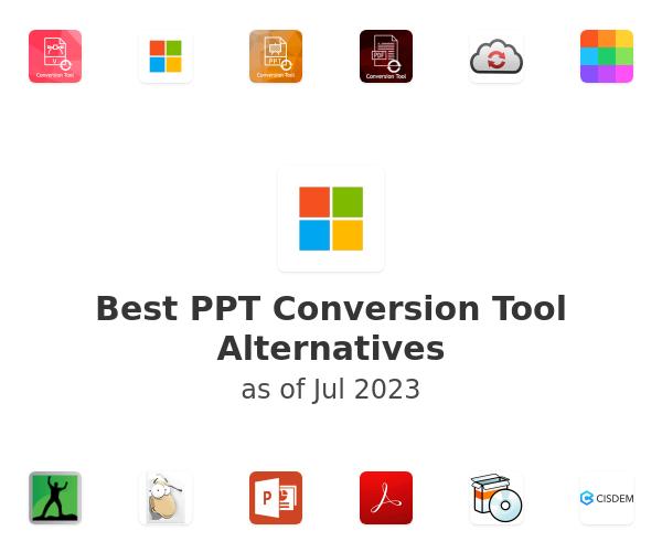 Best PPT Conversion Tool Alternatives