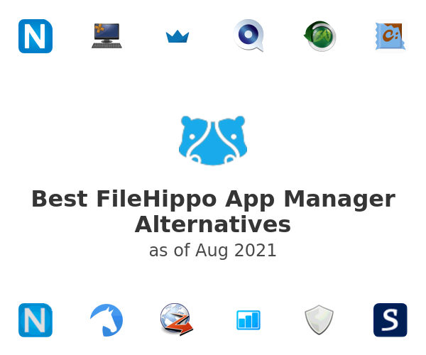 Best FileHippo App Manager Alternatives