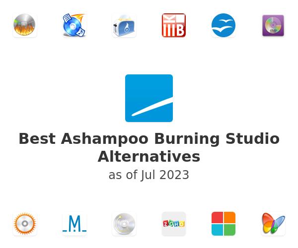 Best Ashampoo Burning Studio Alternatives