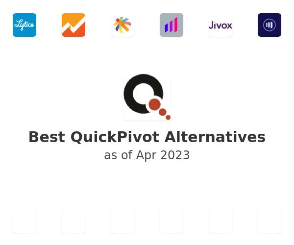 Best QuickPivot Alternatives