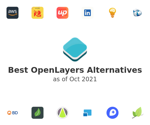 Best OpenLayers Alternatives