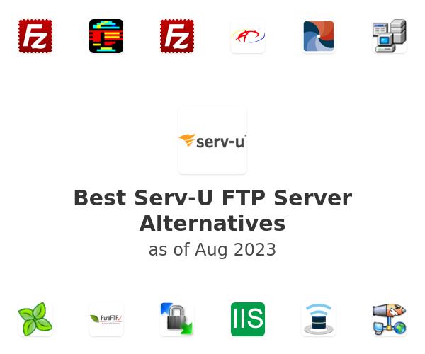Best Serv-U FTP Server Alternatives