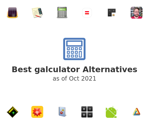 Best galculator Alternatives
