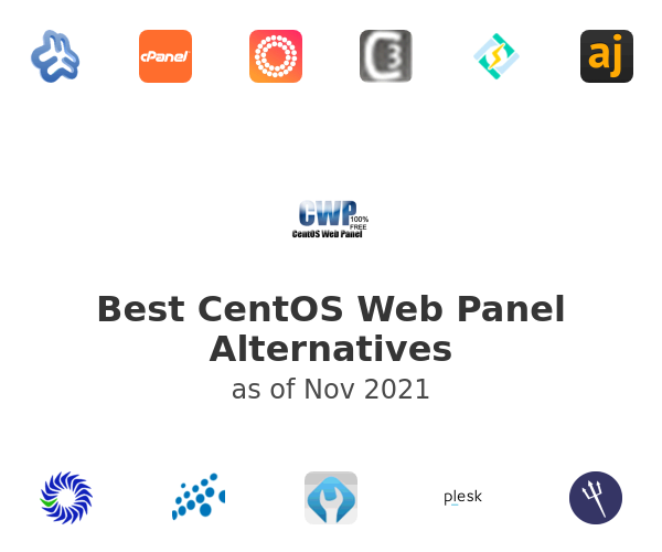 Best CentOS Web Panel Alternatives