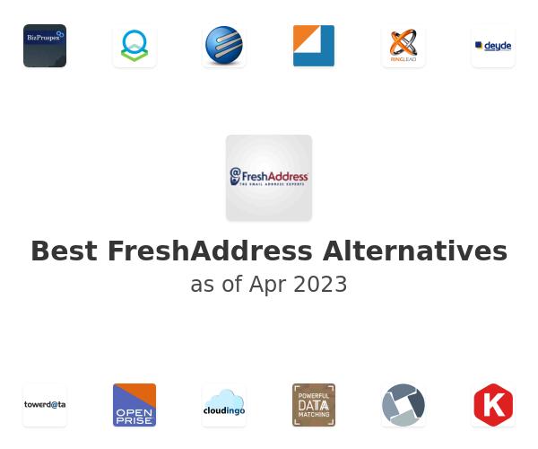 Best FreshAddress Alternatives