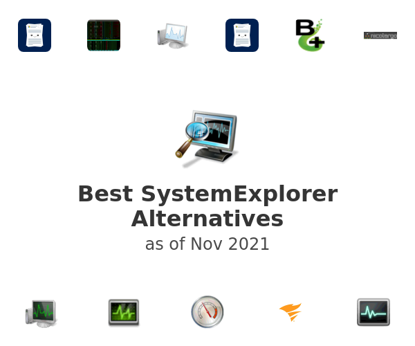 Best SystemExplorer Alternatives