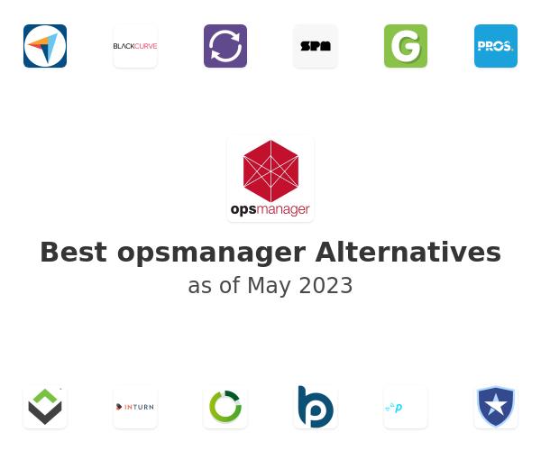 Best opsmanager Alternatives